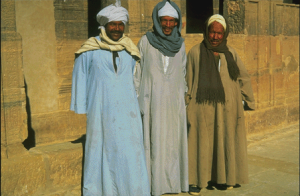 Saudi Arabian Men in Traditional Costume