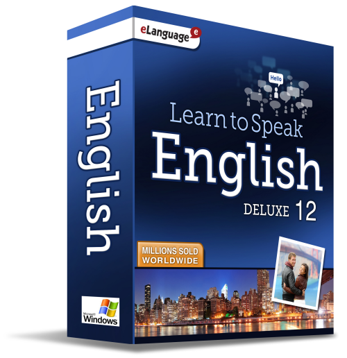 Learn to Speak™ English Deluxe 12 - eLanguage