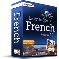Learn to Speak French Deluxe 12