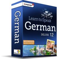 Learn to Speak German Deluxe 12