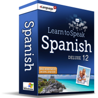 Learn to Speak Spanish Deluxe 12