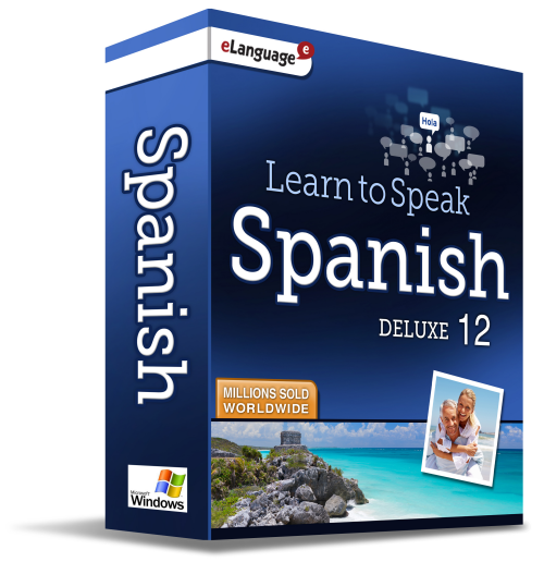 Learn to Speak™ Spanish Deluxe 12