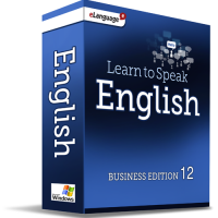 eLanguage Learn to Speak English - Business Edition