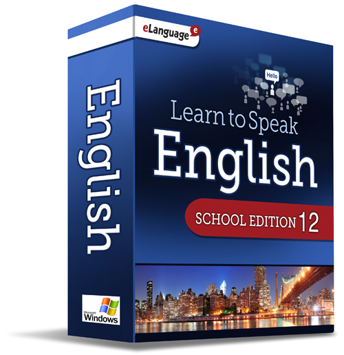 eLanguage Learn to Speak English School Edition