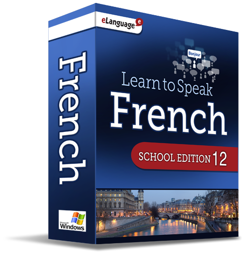 eLanguage Learn to Speak French - School Edition
