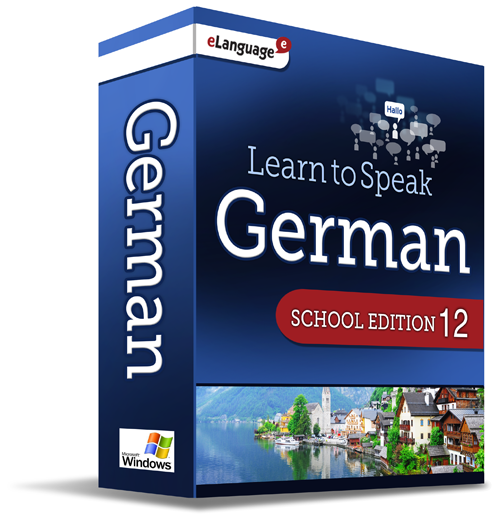 eLanguage Learn to Speak German - School Edition