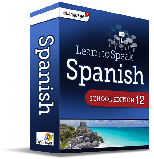 Learn to Speak Spanish Deluxe, School Edition